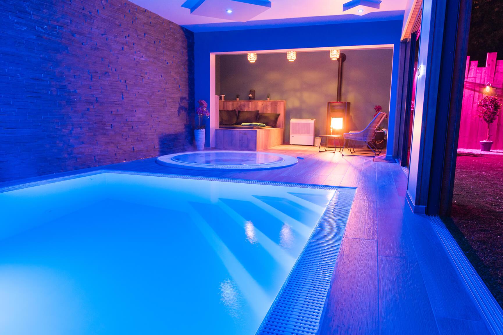 kleurentherapie zwembad